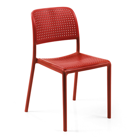 Nardi Bistrot Chair Red Pack Of 2 - Ruby's Garden Boutique