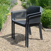 Image of Nardi Net Chair Anthracite Pack Of 2 - Ruby's Garden Boutique