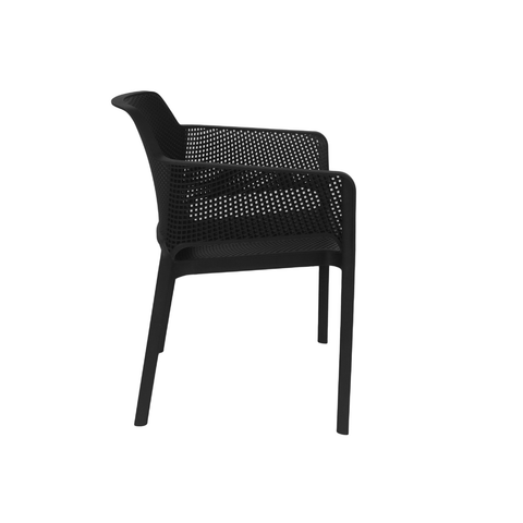 Nardi Net Chair Anthracite Pack Of 2 - Ruby's Garden Boutique