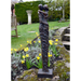 Solstice Sculptures Contemporary Twist Aluminium Dark Verdigris - Ruby's Garden Boutique