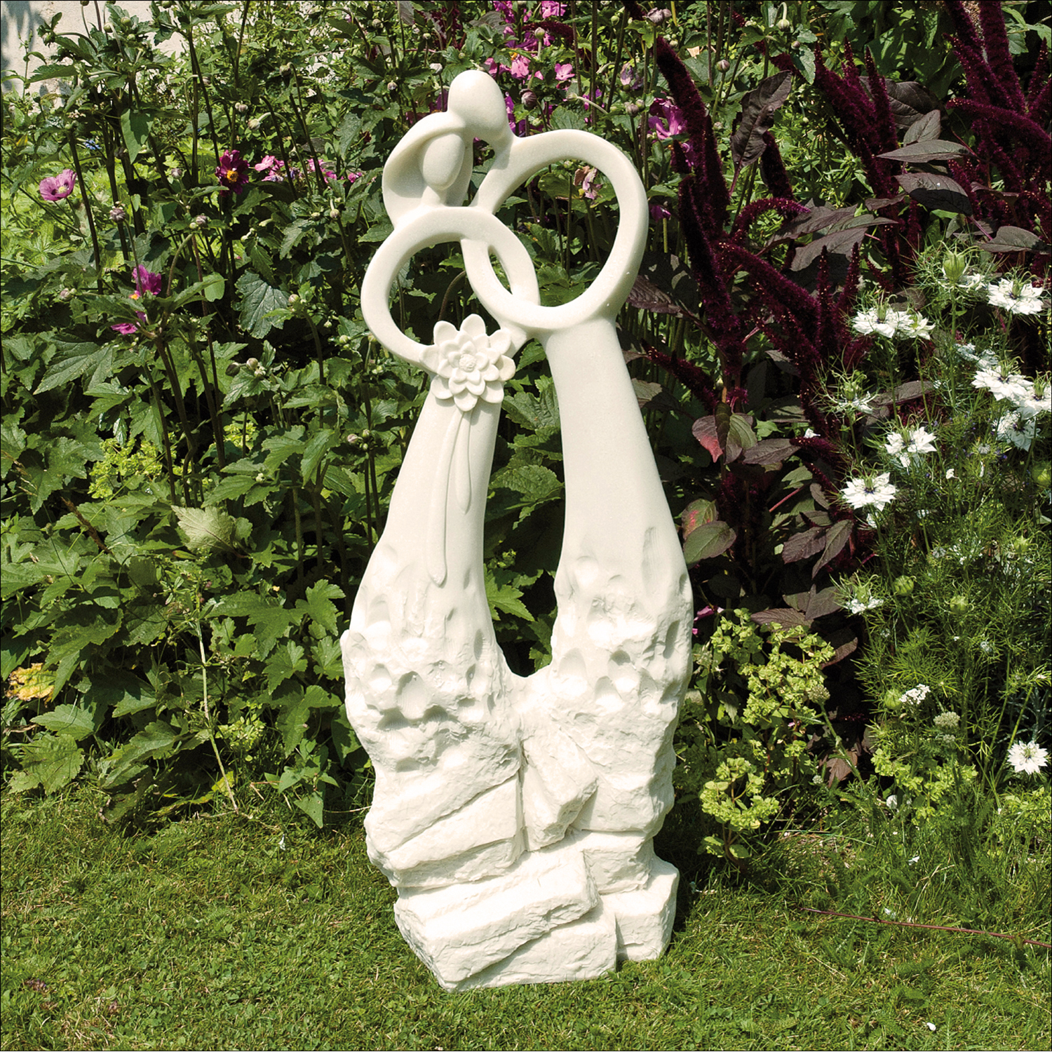 Solstice Sculptures Just Married Ivory Effect - Ruby's Garden Boutique