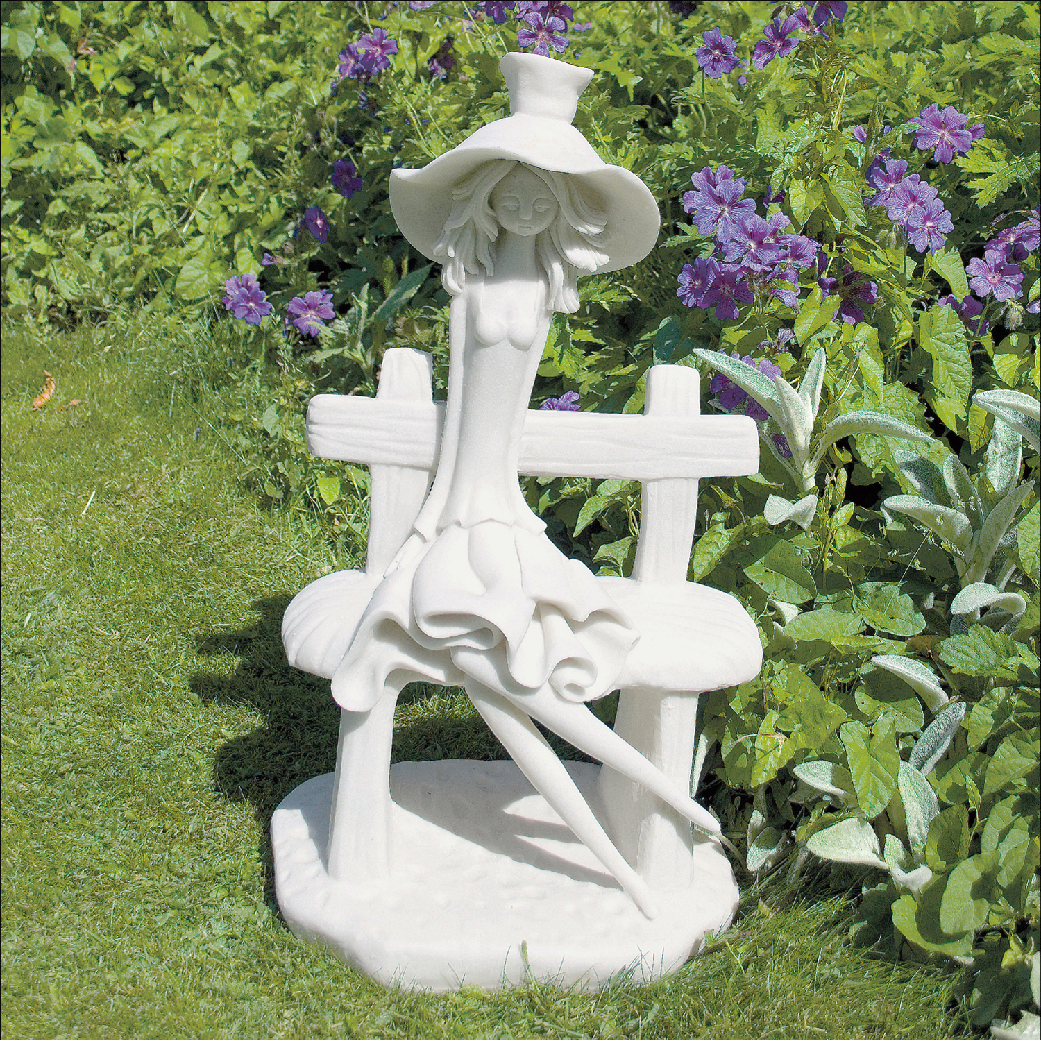 Solstice Sculptures Florence Ivory Effect - Ruby's Garden Boutique