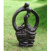 Solstice Sculptures Blissful Halo Ebony Effect - Ruby's Garden Boutique