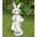 Solstice Sculptures Mrs Rabbit Antique Stone Effect - Ruby's Garden Boutique