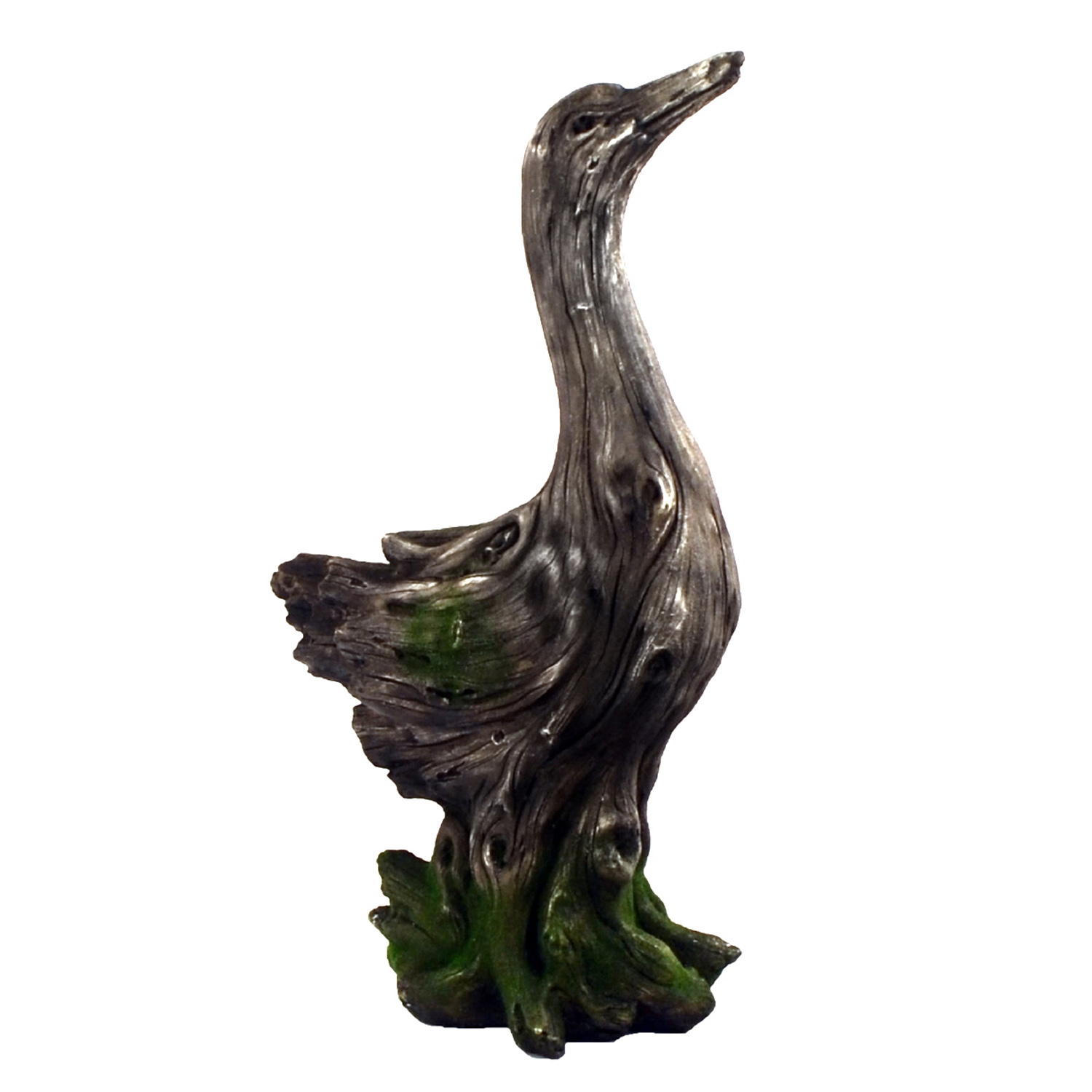 Solstice Sculptures Duck Driftwood Effect - Ruby's Garden Boutique