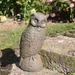 Solstice Sculptures Owl Rust Effect - Ruby's Garden Boutique
