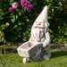 Solstice Sculptures Wheelbarrow Gnome Antique Stone Effect - Ruby's Garden Boutique