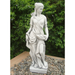 Solstice Sculptures Heidi Hunter Girl White Stone Effect - Ruby's Garden Boutique