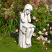 Solstice Sculptures Julie White Stone Effect - Ruby's Garden Boutique
