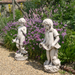 Solstice Sculptures Michael Antique Stone Effect - Ruby's Garden Boutique