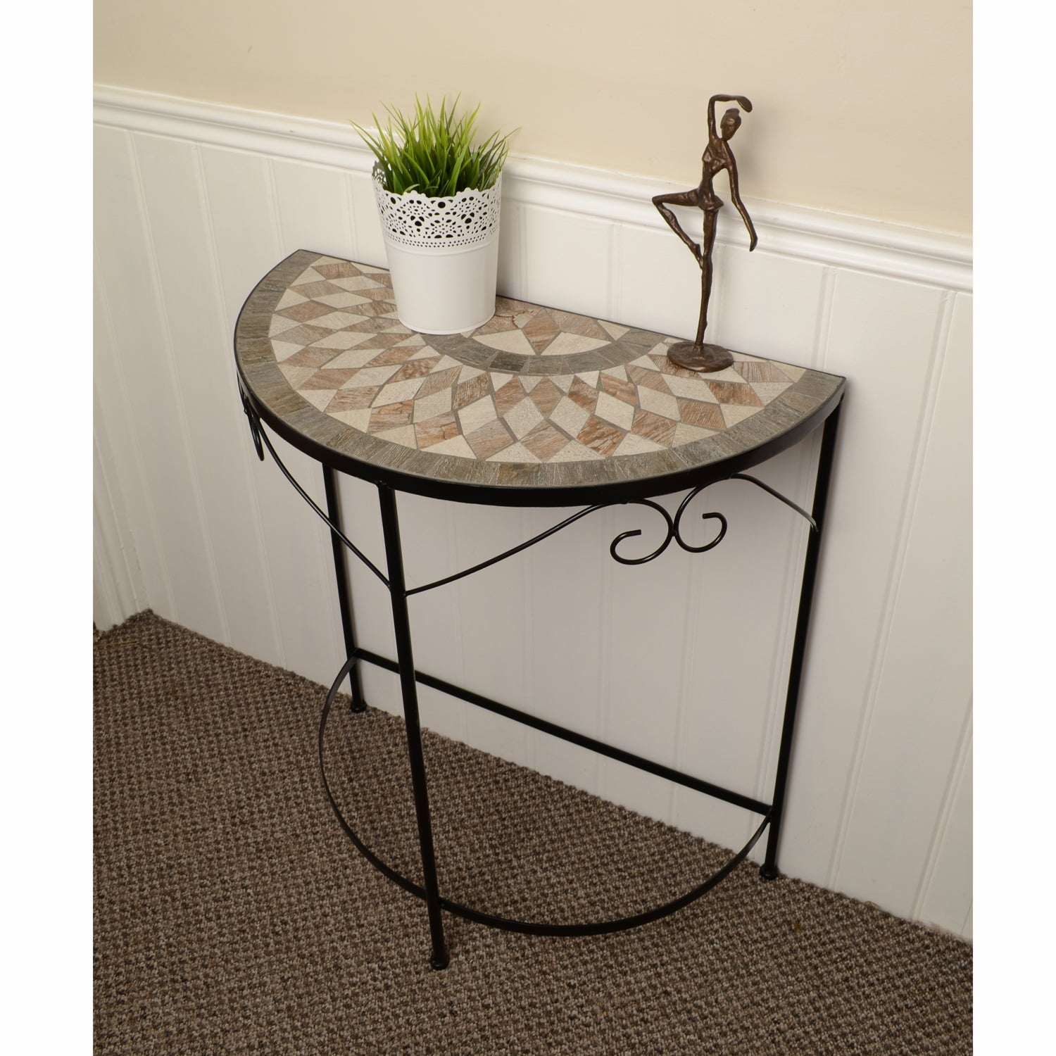Summer Terrace Brava Semi Table - Ruby's Garden Boutique