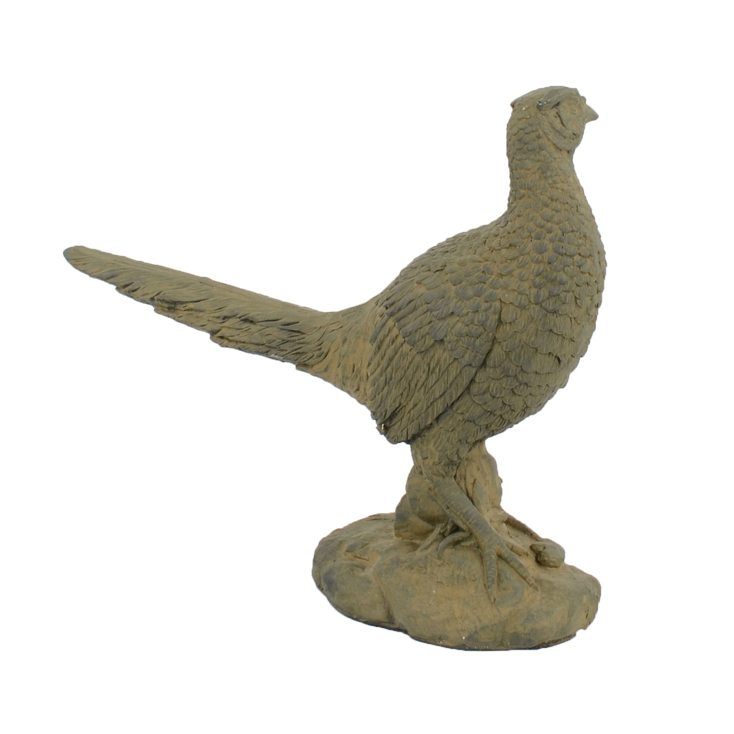 Solstice Sculptures Pheasant 49cm Rust Effect - Ruby's Garden Boutique