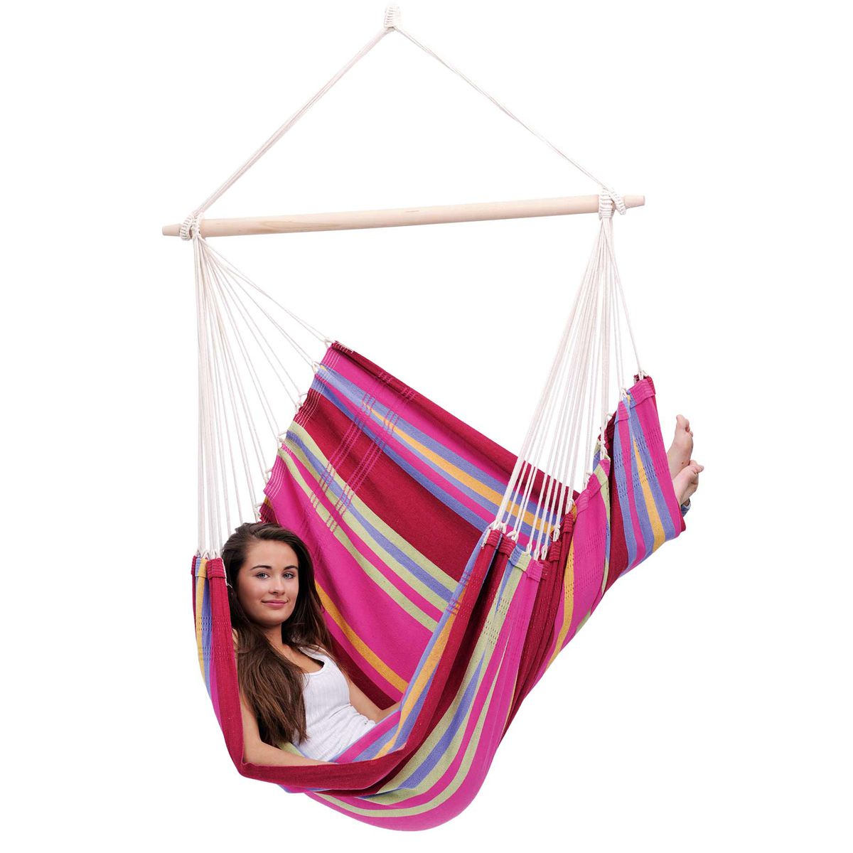 Amazonas Brasil Grenadine Hanging Chair - Ruby's Garden Boutique