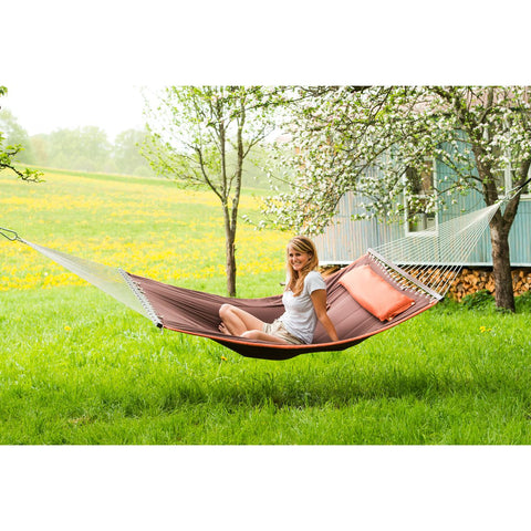 Amazonas Palm Beach Terracotta Hammock - Ruby's Garden Boutique