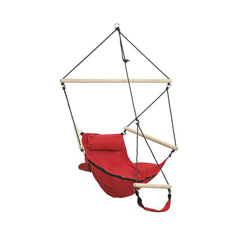 Amazonas Swinger Red Hanging Chair - Ruby's Garden Boutique