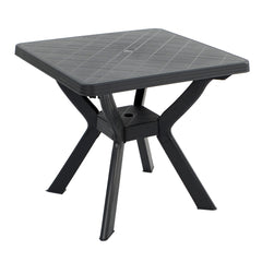 Trabella Turin Garden Patio Table in Anthracite - Ruby's Garden Boutique