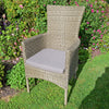 Image of Europa Leisure Dorchester Garden Chair Pack Of 2 - Ruby's Garden Boutique