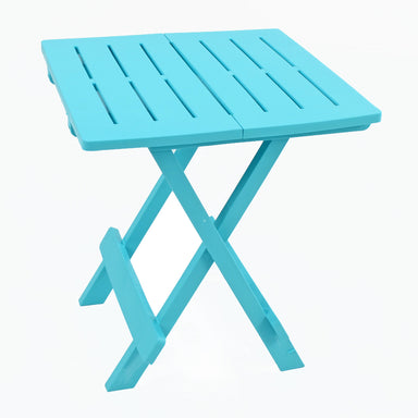 Trabella Bari Garden Patio Side Table Blue - Ruby's Garden Boutique