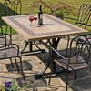Image of Byron Manor Charleston Garden Dining Table - Ruby's Garden Boutique