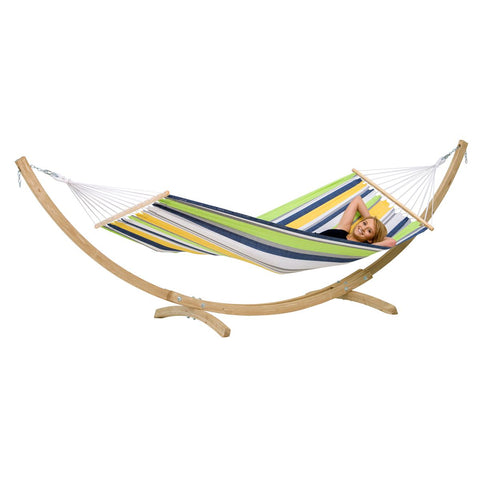Amazonas StarSet Kolibri Hammock and Wooden Stand Set - Ruby's Garden Boutique