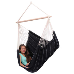 Amazonas Brasil Black Hanging Chair - Ruby's Garden Boutique