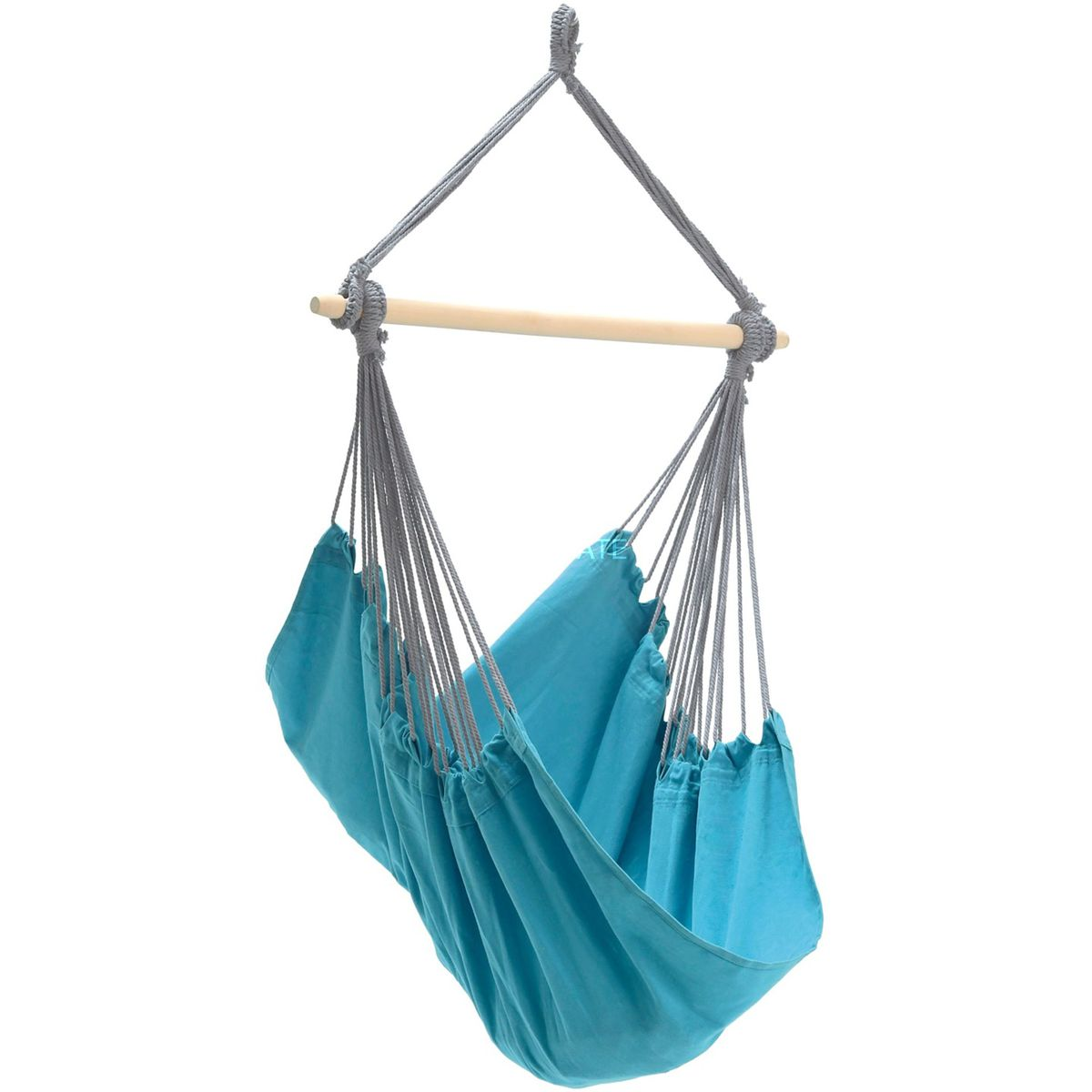 Amazonas Panama Aqua Blue Hanging Chair - Ruby's Garden Boutique