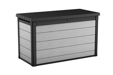 Keter Denali 757 Litre Duotech Garden Box in Anthracite & Grey