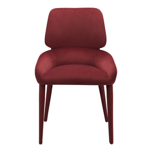 ADLER DINING CHAIR CLARET, Purple - Tops-Dress