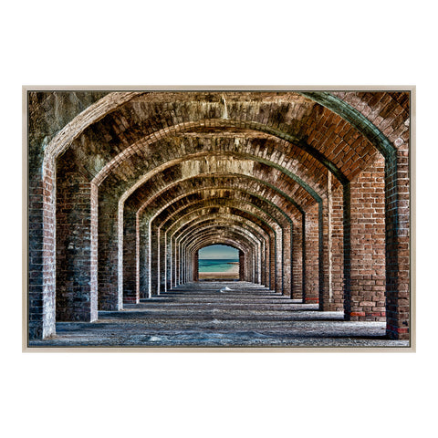 Image of ARCHES WALL DÉCOR, Multicolor - Tops-Dress