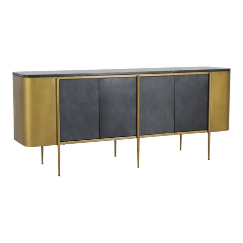 Image of GATSBY SIDEBOARD, Gold - Tops-Dress
