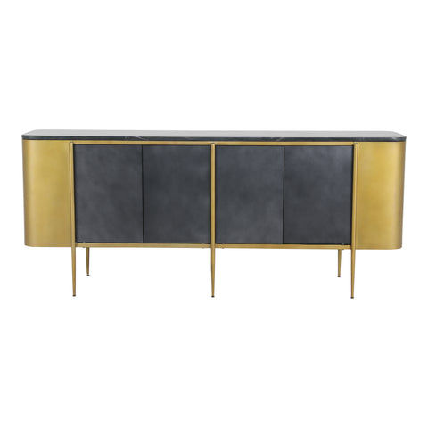 GATSBY SIDEBOARD, Gold - Tops-Dress