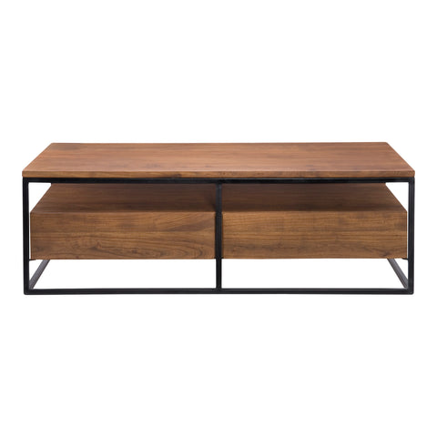 VANCOUVER COFFEE TABLE, Brown - Tops-Dress