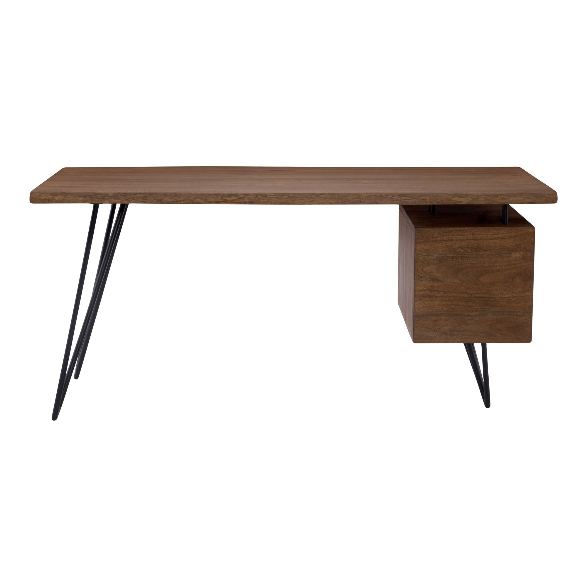 NAILED DESK, Brown - Tops-Dress