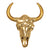 Glamour bison antique brass, gold - Tops-Dress