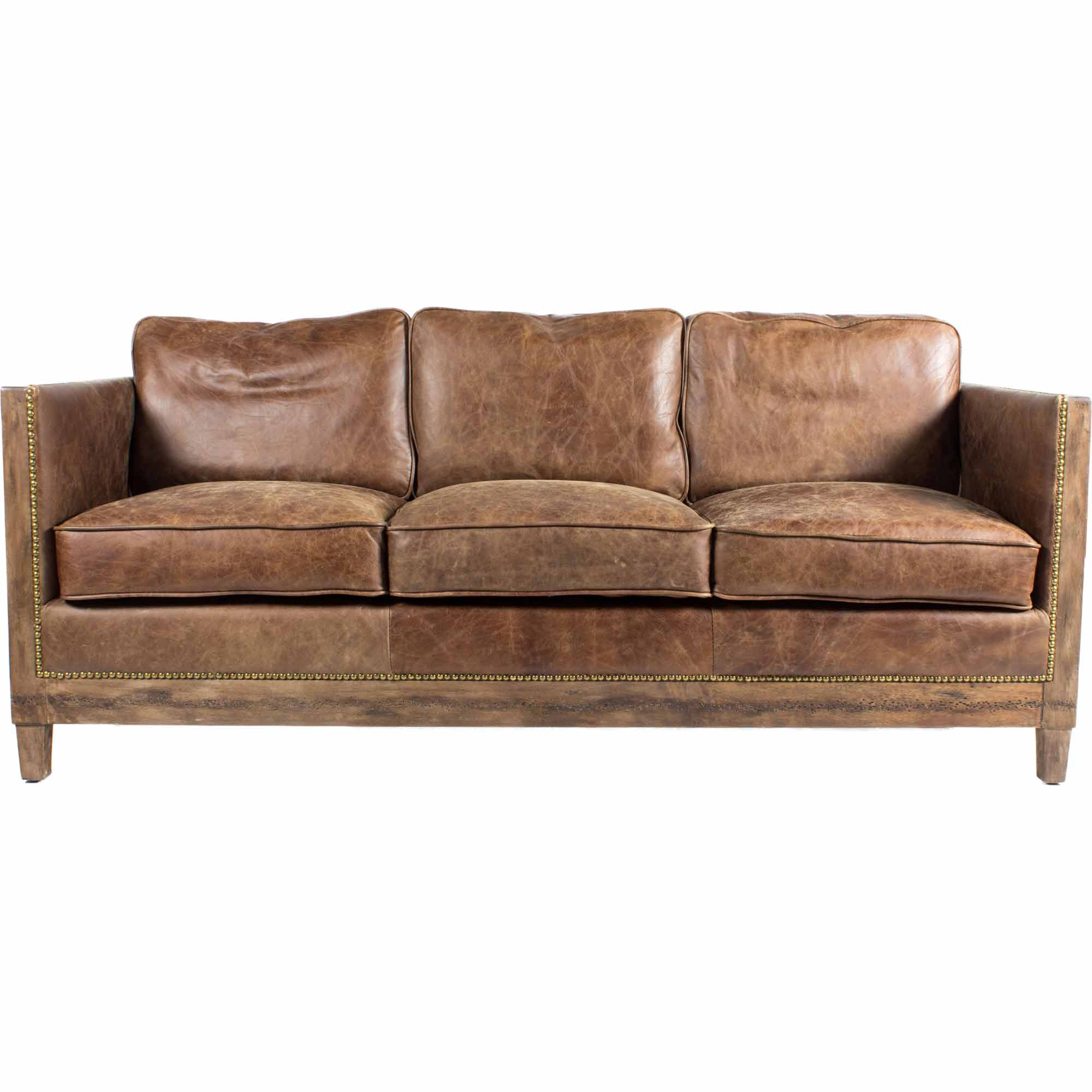 DARLINGTON SOFA, Brown - Tops-Dress