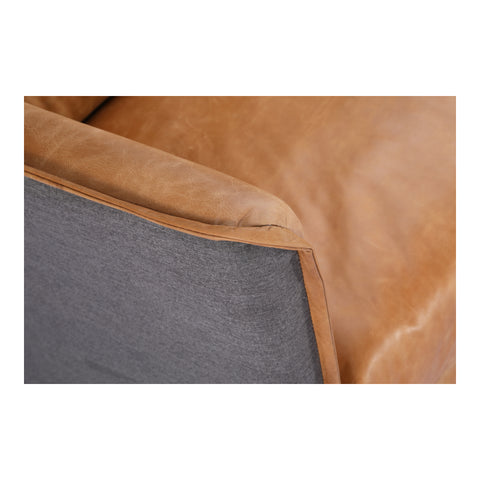 Image of MESSINA SOFA, Brown - Tops-Dress