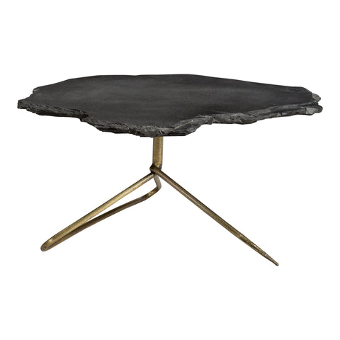 Image of SHERIDAN COFFEE TABLE, Black - Tops-Dress