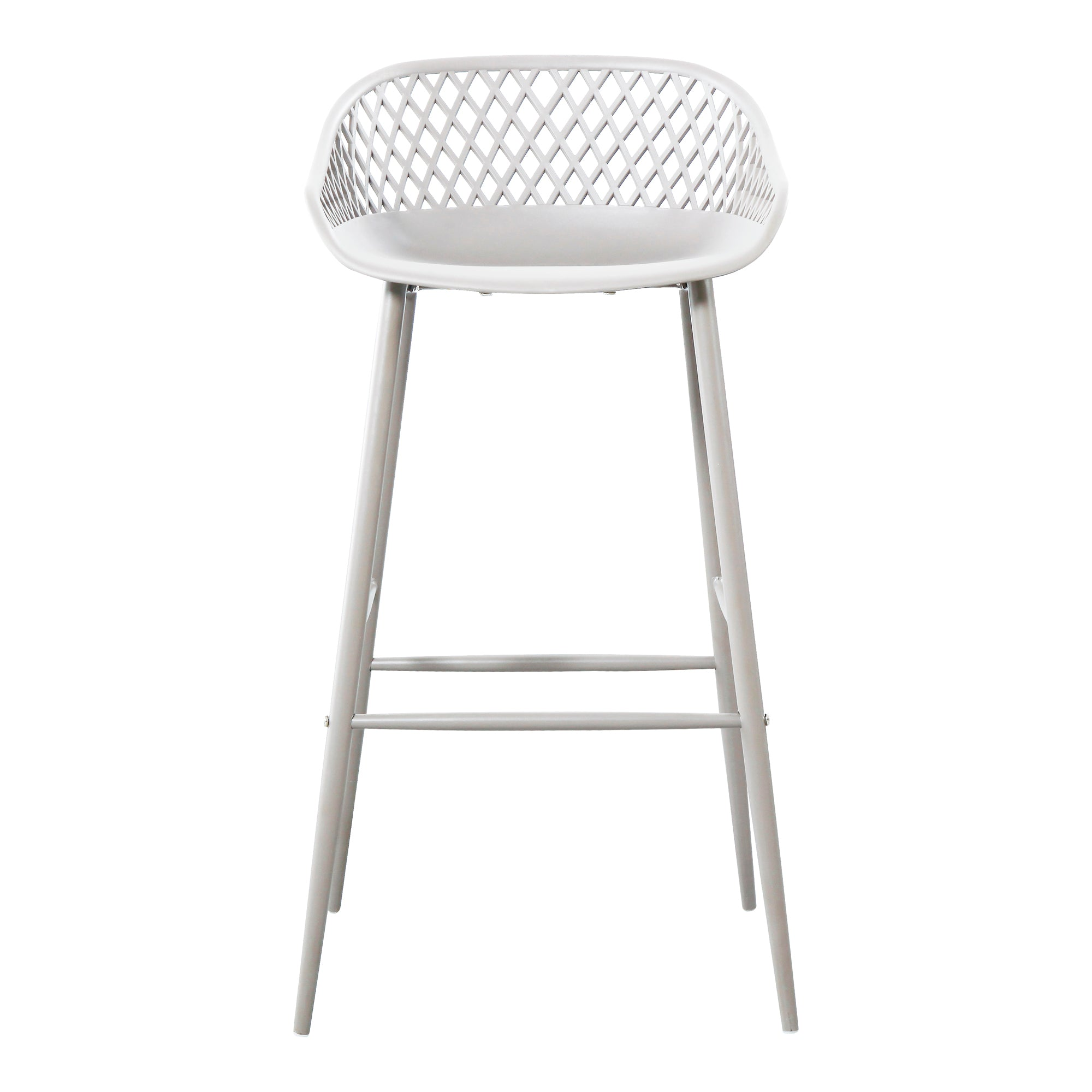 Piazza outdoor barstool, white - Tops-Dress
