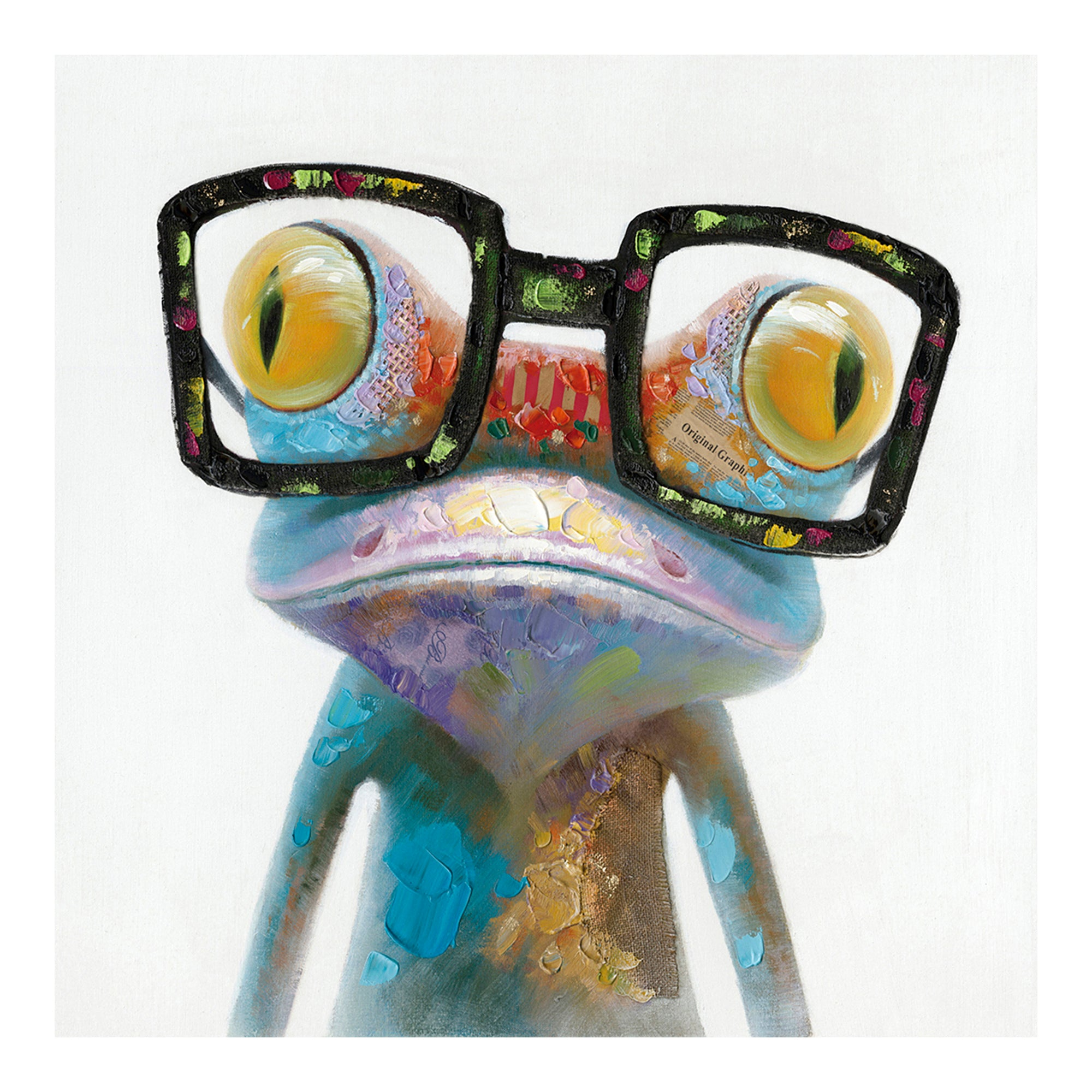 SMART FROG WALL DÉCOR, Multicolor - Tops-Dress