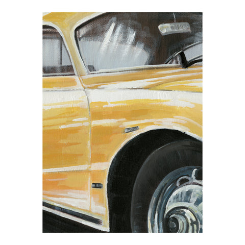 Image of CLASSIC SPORTSCAR WHITE WALL DÉCOR, Multicolor - Tops-Dress