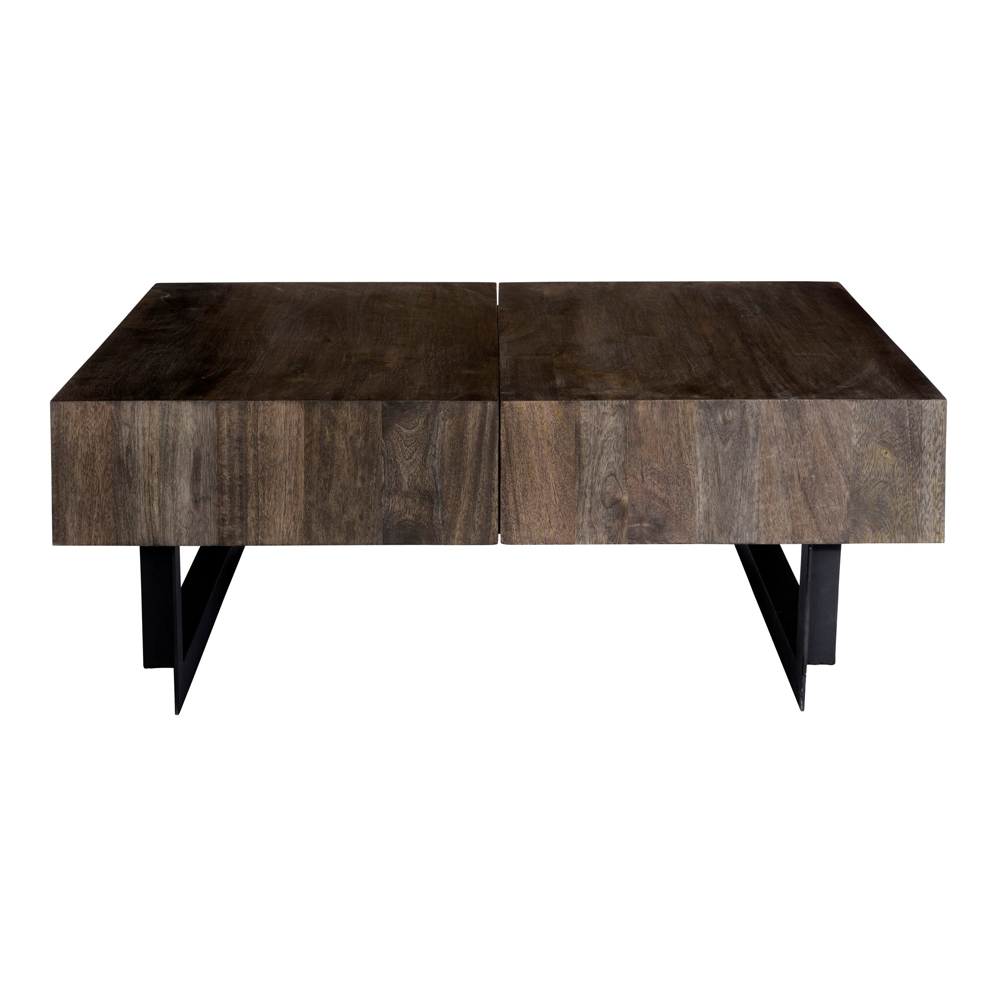 Tiburon storage coffee table, natural - Tops-Dress