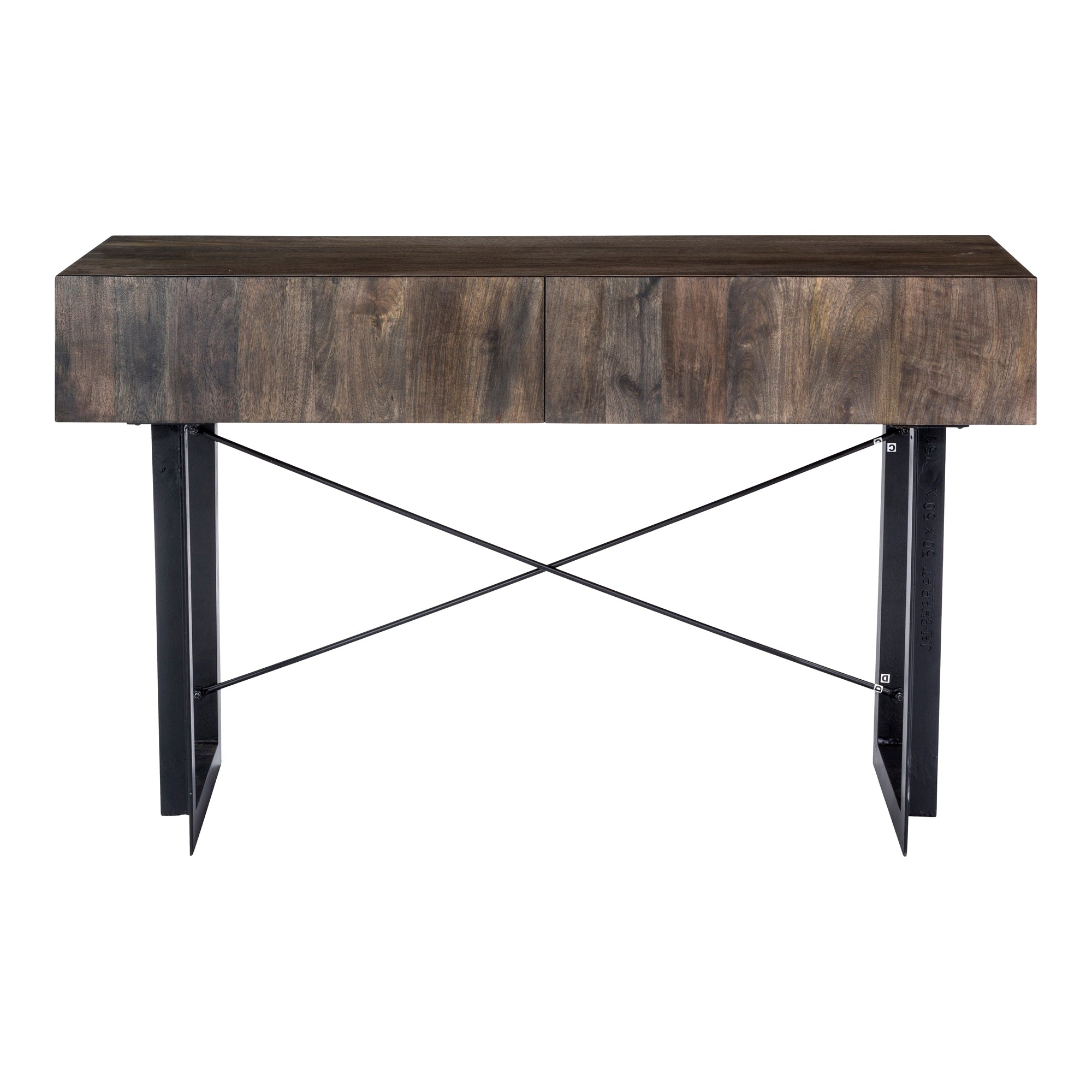 Tiburon console table, natural - Tops-Dress