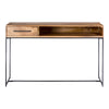 COLVIN CONSOLE TABLE, Natural - Tops-Dress