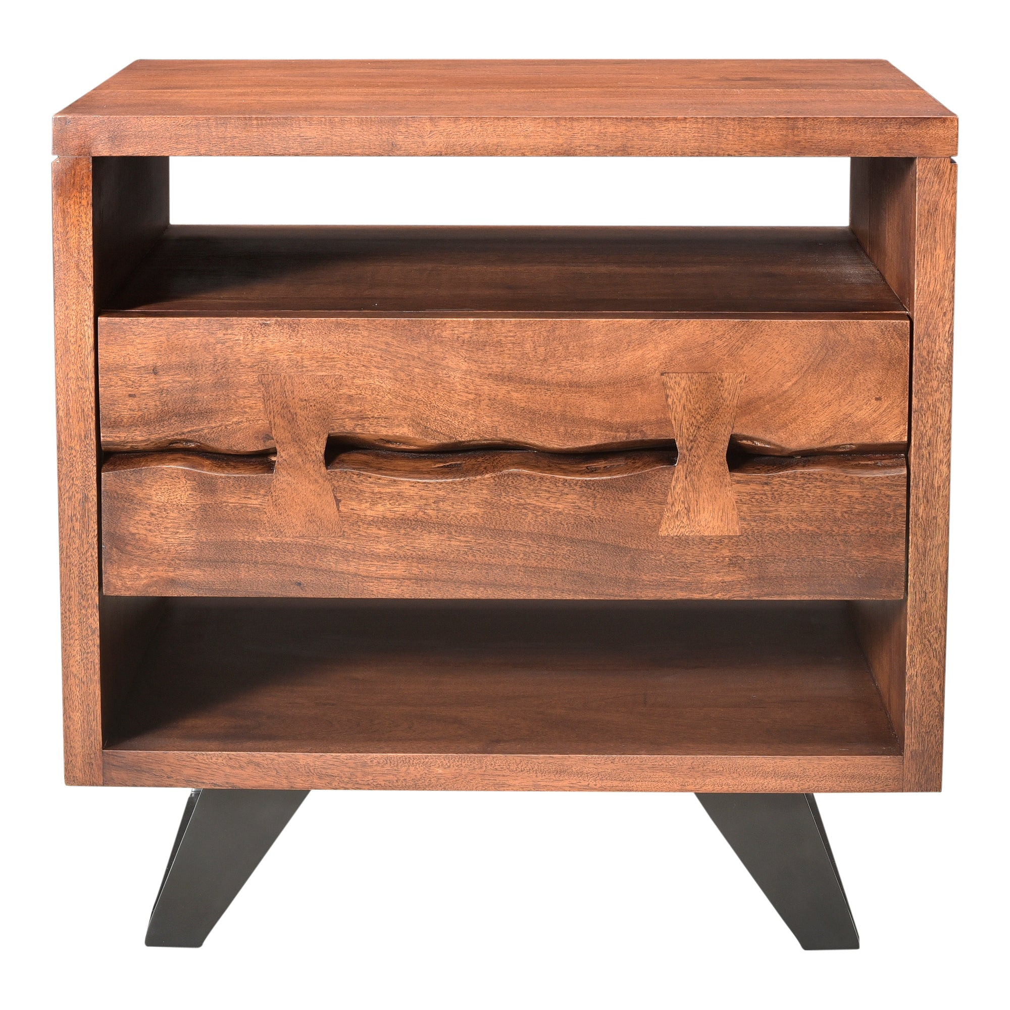 MADAGASCAR NIGHTSTAND, Brown - Tops-Dress