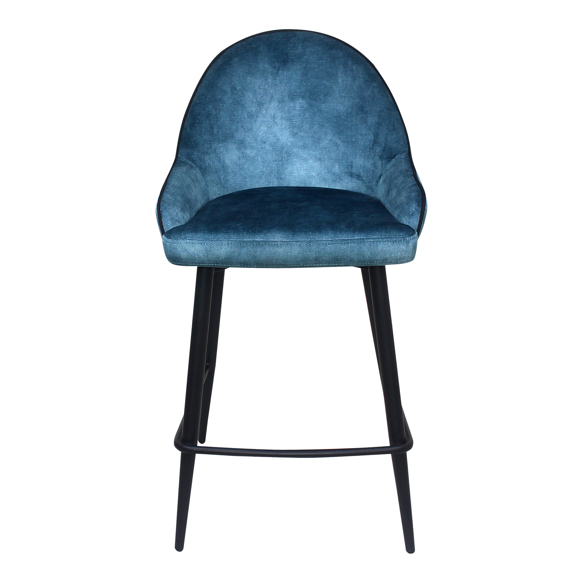 ASTBURY COUNTER STOOL, Blue - Tops-Dress