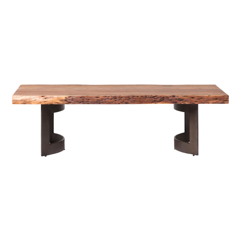 BENT COFFEE TABLE, Brown - Tops-Dress