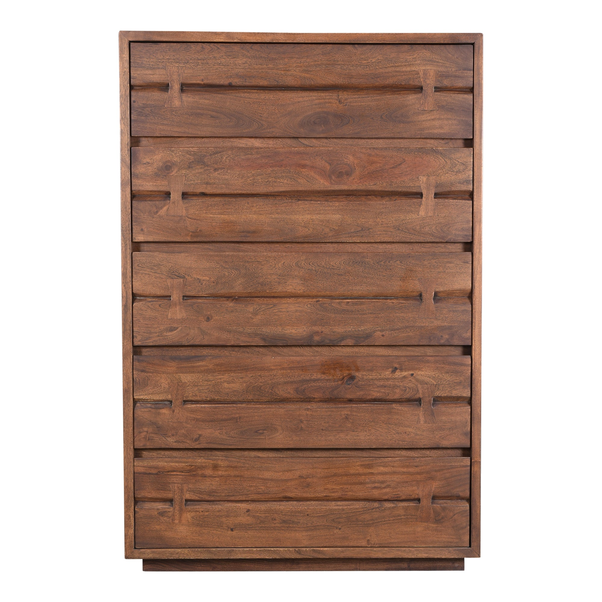MADAGASCAR CHEST, Brown - Tops-Dress