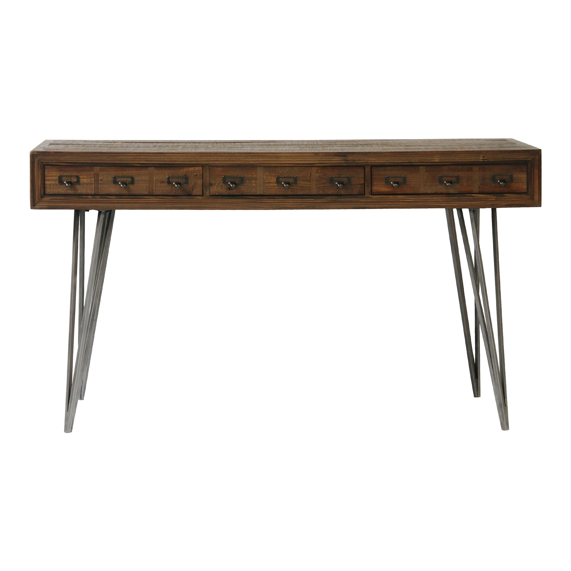 JAVADI DESK, Brown - Tops-Dress