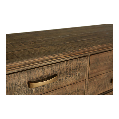 Image of ARISTOCRAT CONSOLE TABLE, Natural - Tops-Dress