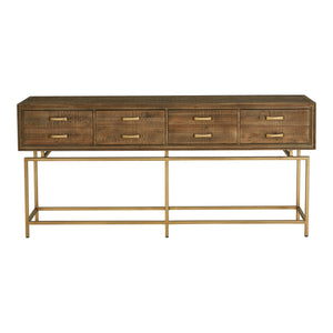 ARISTOCRAT CONSOLE TABLE, Natural - Tops-Dress